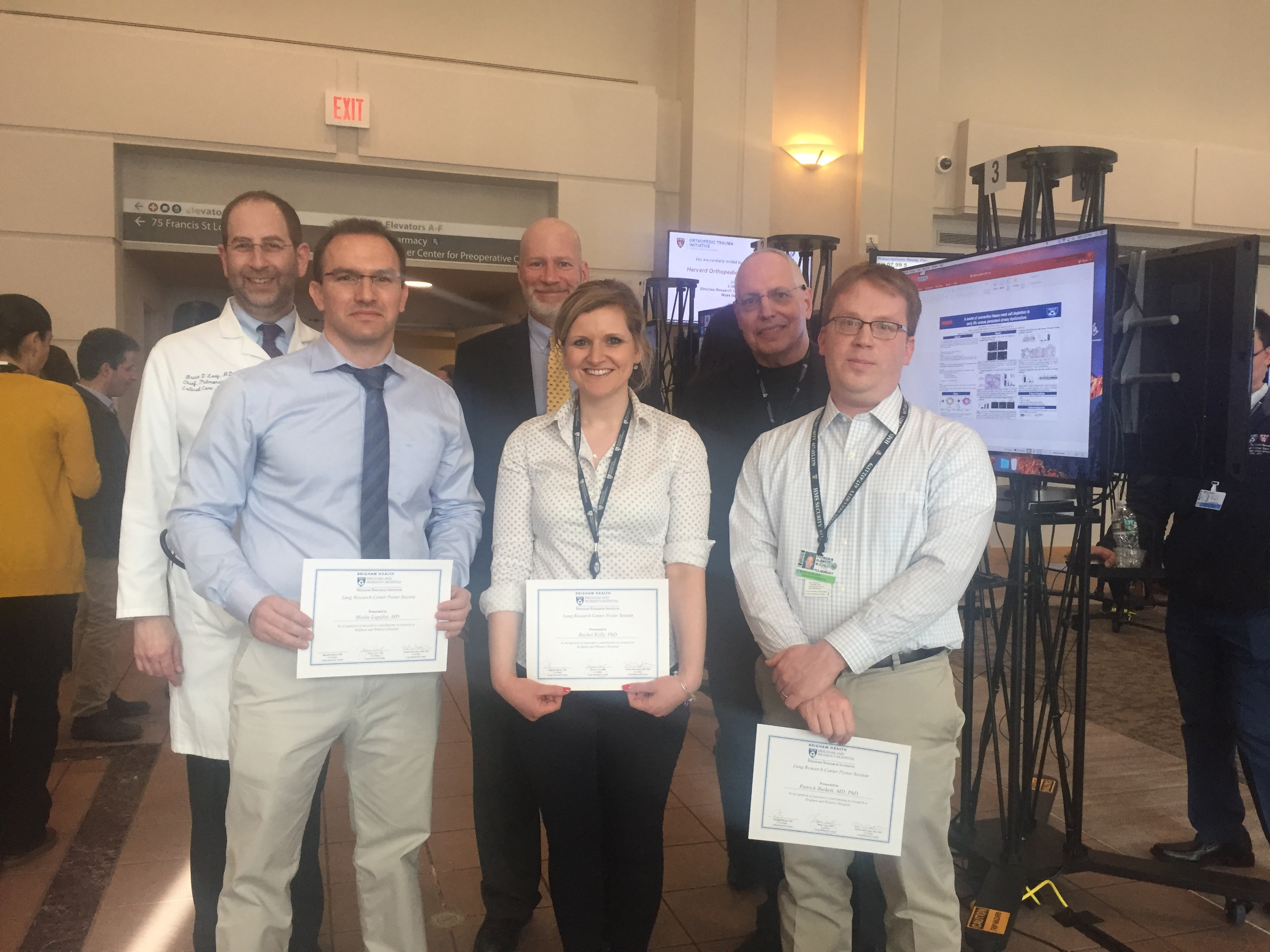 Winners from the Lung Symposium