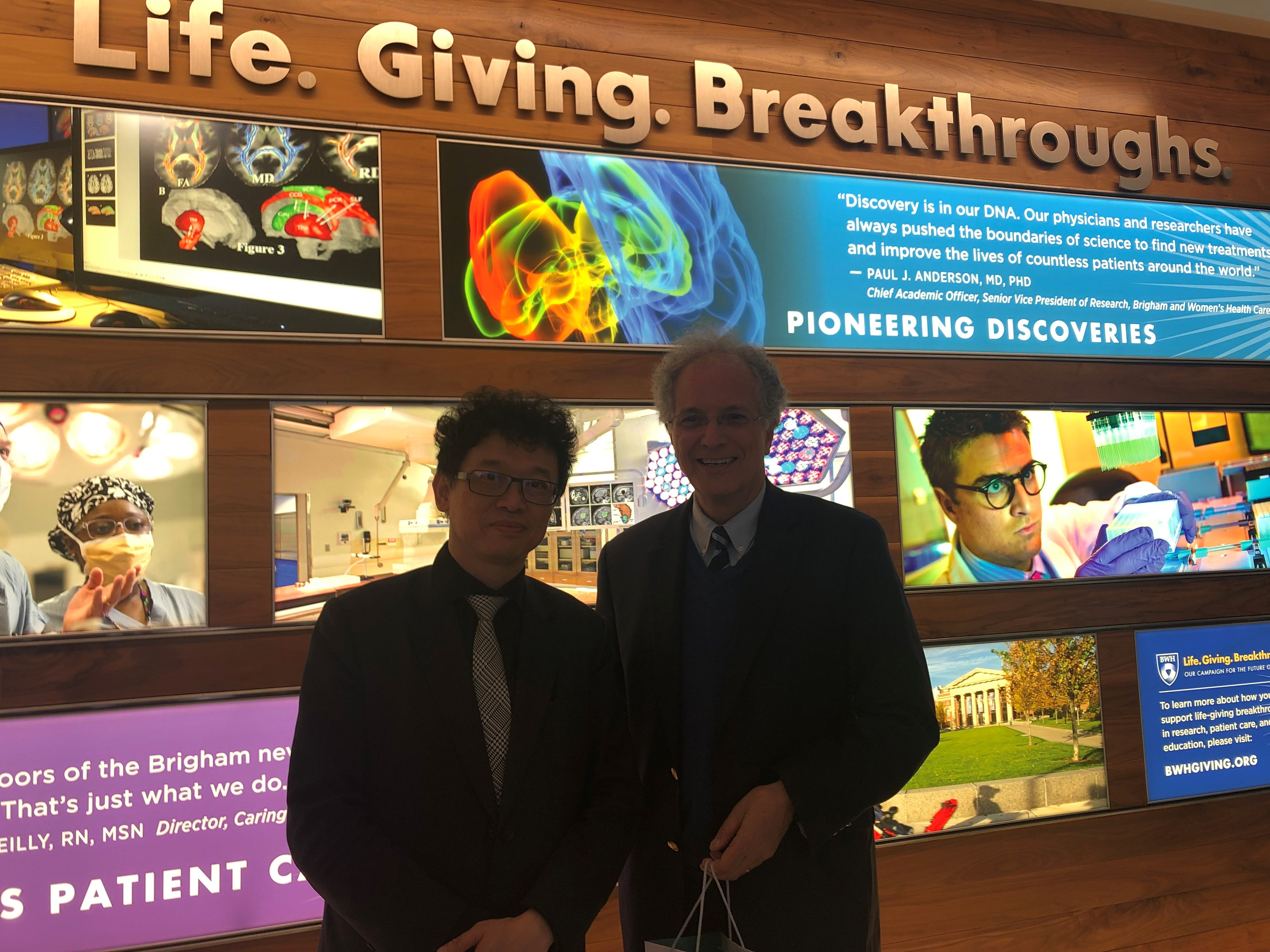 Brigham Research Institute   Taipei Delegation to Partners