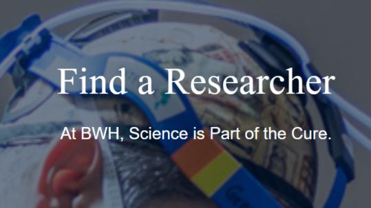 Find a Researcher